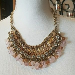 Necklace, pink